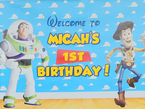 Micah Turns One: A Toy Story Birthday Party
