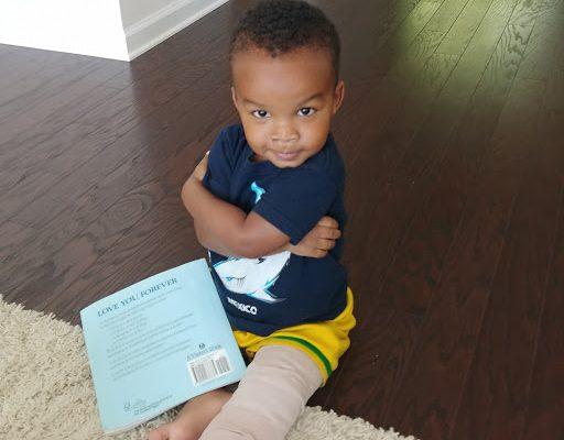 Micah Broke His Leg!